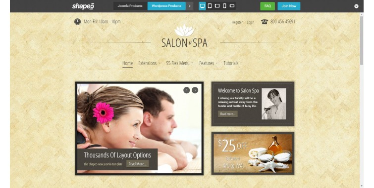 http://www.shape5.com/demo/index.php?salon_n_spa/
