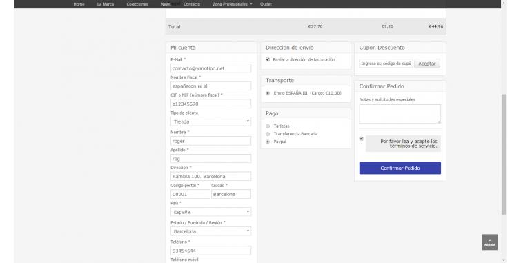 Creación de Tienda Online Bijouteri
