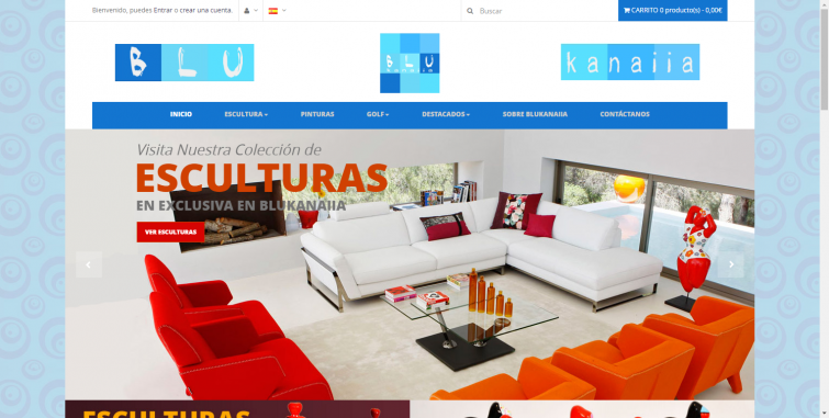 Dise o tienda online decoraci n world motion for Webs decoracion online