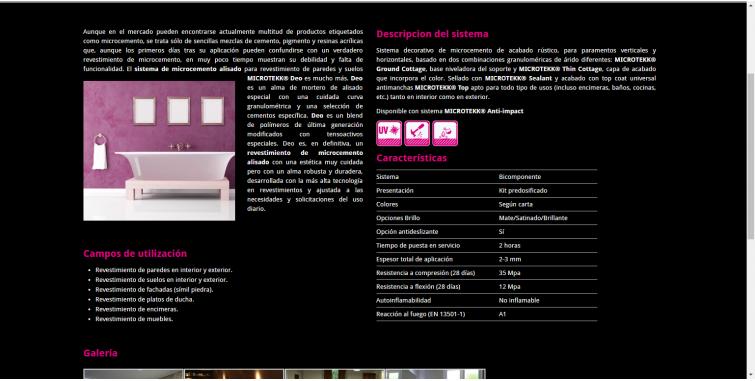 Creación de Página web empresa servicios
