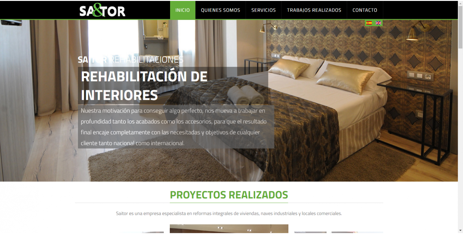 Crear P Gina Web Empresa Reformas World Motion ~ Webs De Decoraciã³n De Interiores