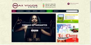 Diseño Tienda virtual productos eróticos