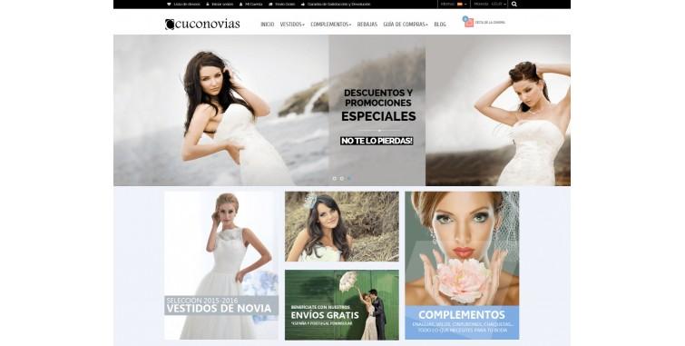 7d583280d Diseño Tienda Online Vestidos de Novia - World Motion