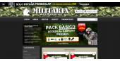 Diseño Tienda Online Armas