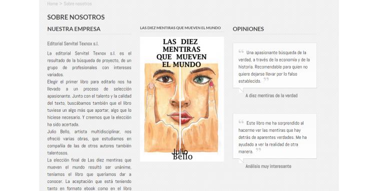Diseño Tienda Online Libros