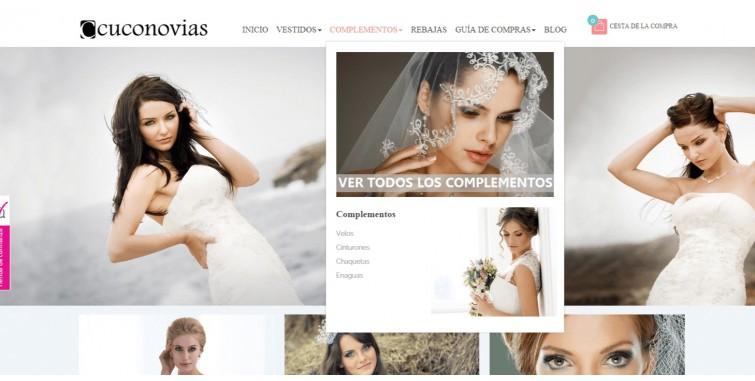 0d0082f1 Diseño Tienda Online Vestidos de Novia - World Motion
