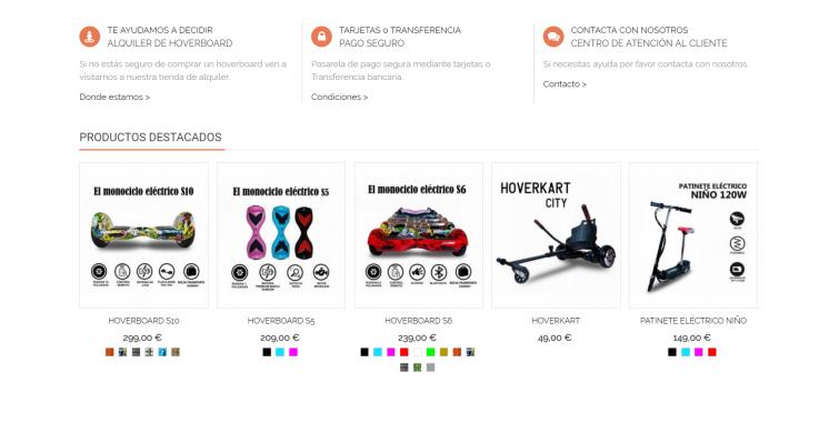 Diseño Tienda Online Juguetes