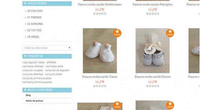 94bf3d43a Diseño Tienda Online Ropa para Bebes - World Motion